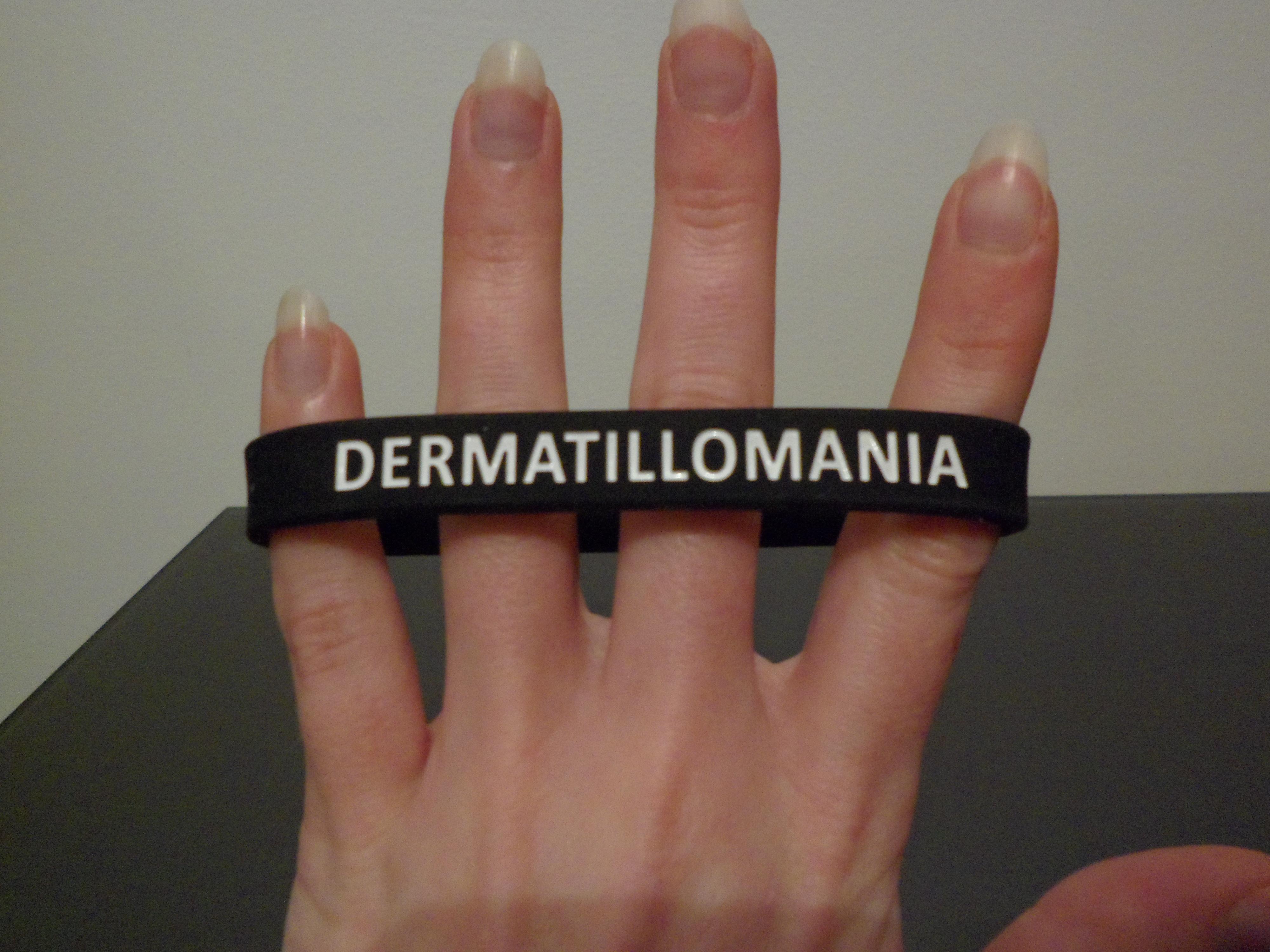 Dermatillomania Awareness Wristband | Dermatillomania